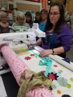 Peicing on the longarm