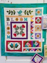 "Our Spring Embroidery Retreat is doing this ""Patches of Sping"" quilt."